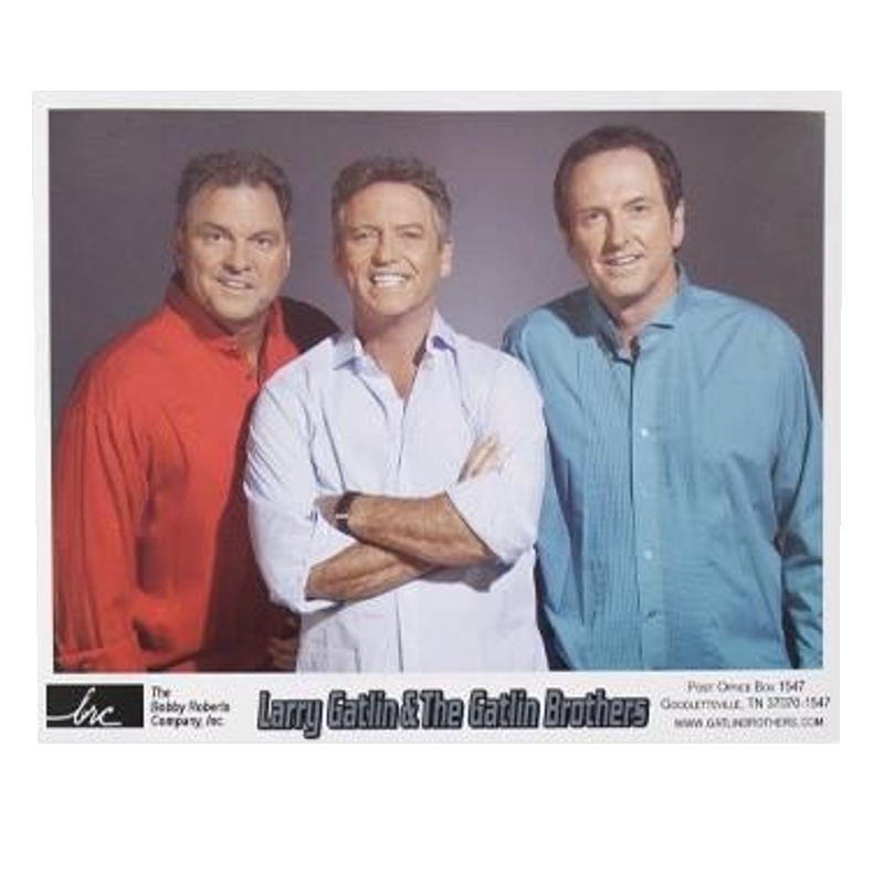 Gatlin Brothers 8x10- Color Shirts