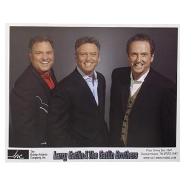 Gatlin Brothers 8x10- Black Suits